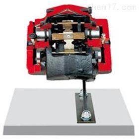 YUY-JP0129固定钳盘式制动器解剖模型,带四个活塞