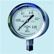 "YQHA(107)布莱迪4.25""安全型全不锈钢压力表"