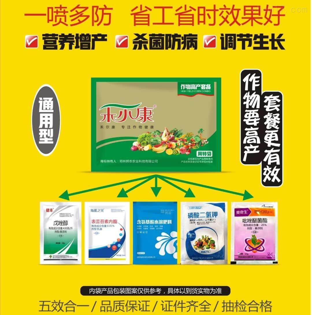 小麦花生增产套餐三遍药控旺增产喷施剂