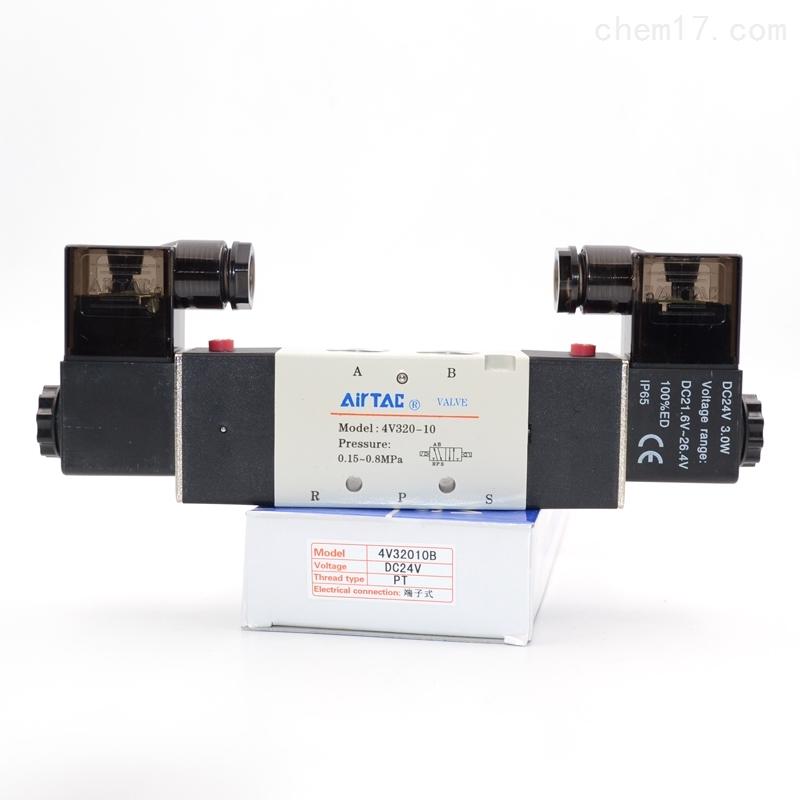 亚德客电磁阀一级代理商4V320-10