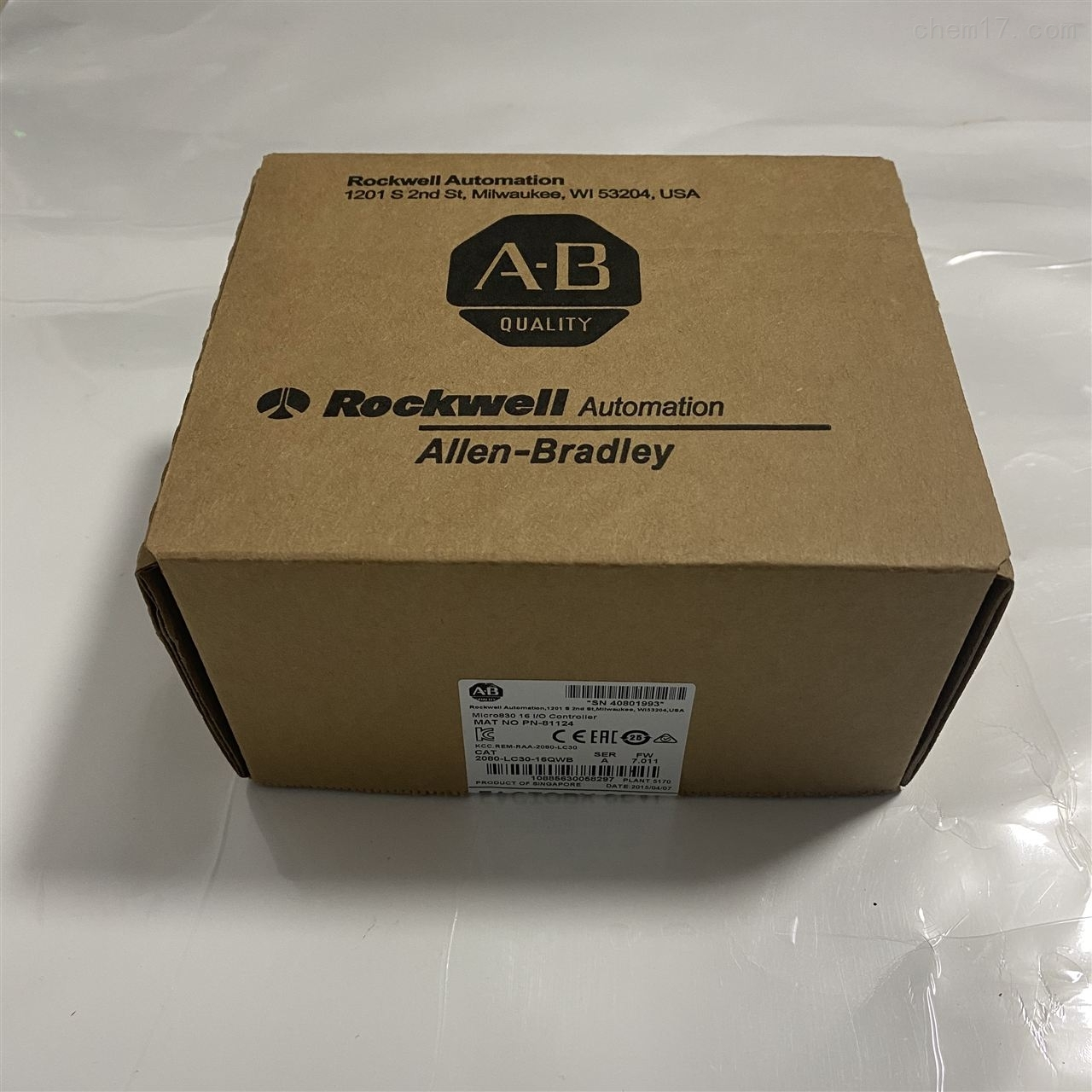 代理AB罗克韦尔2080系列现货库存质保一年