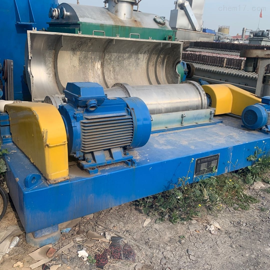 回收二手节能环保污泥处理专用卧螺离心机