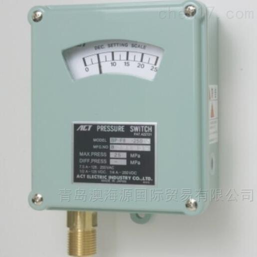 BP-F8波登管型压力开关日本ACT