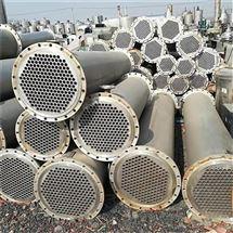 出售二手列管式冷凝器不锈钢