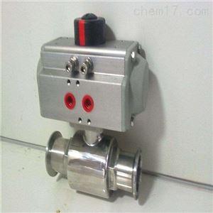 气动无滞留卫生级球阀Q681F制造商