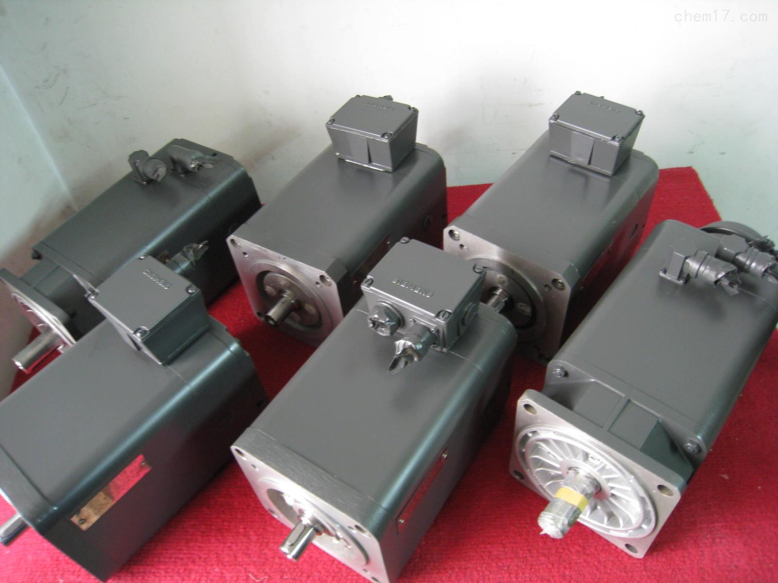 西门子伺服电机上电跳闸维修