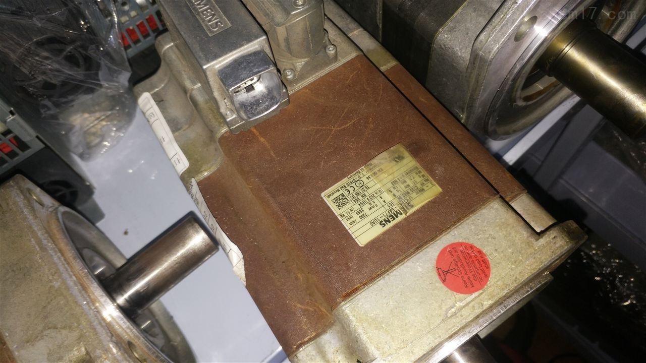 西门子主轴电机温度高维修