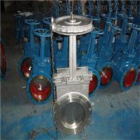 PZL73H不銹鋼鏈輪刀形閘閥