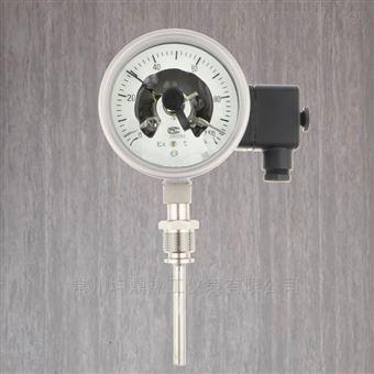WSSX-411F不銹鋼防爆電接點雙金屬溫度計