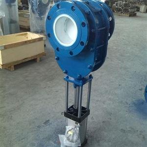 气动陶瓷双闸板出料阀生产公司厂家直销