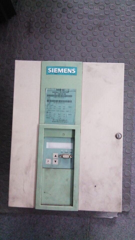西门子6RA80运行报警复不了位维修