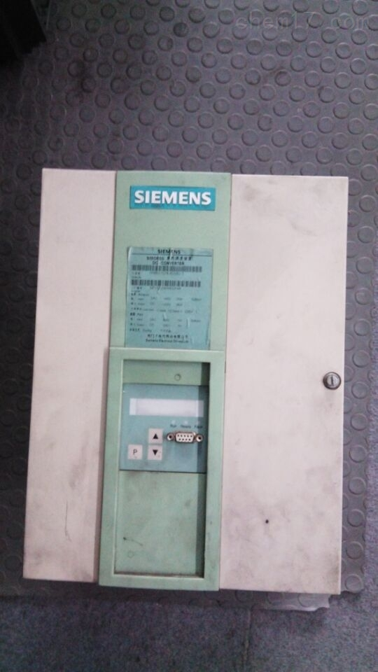 6RA80一通电就跳闸报警维修