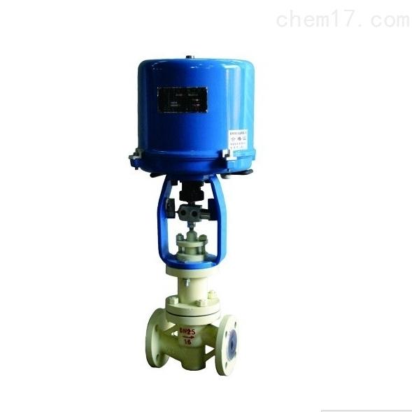衬氟电动波纹管调节阀ZDLPF-16K知名品牌