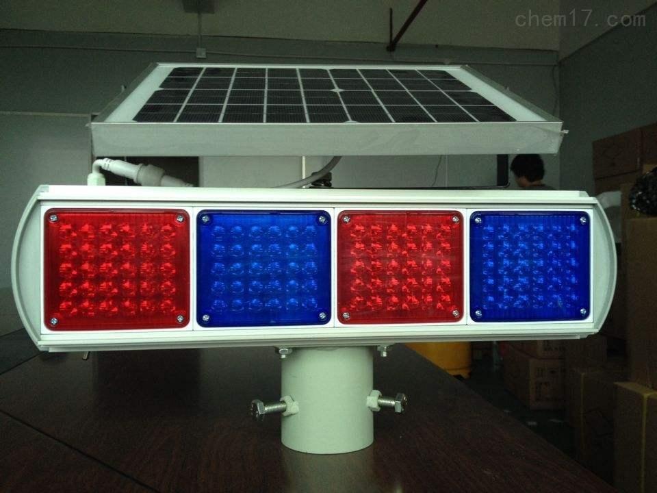 LED道路爆闪警示灯  路边安全太阳能灯