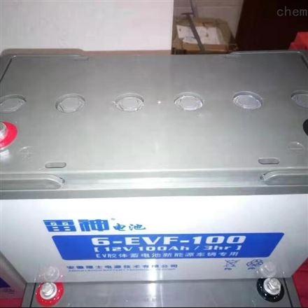 理士雷神6EVF-100B 动力蓄电池