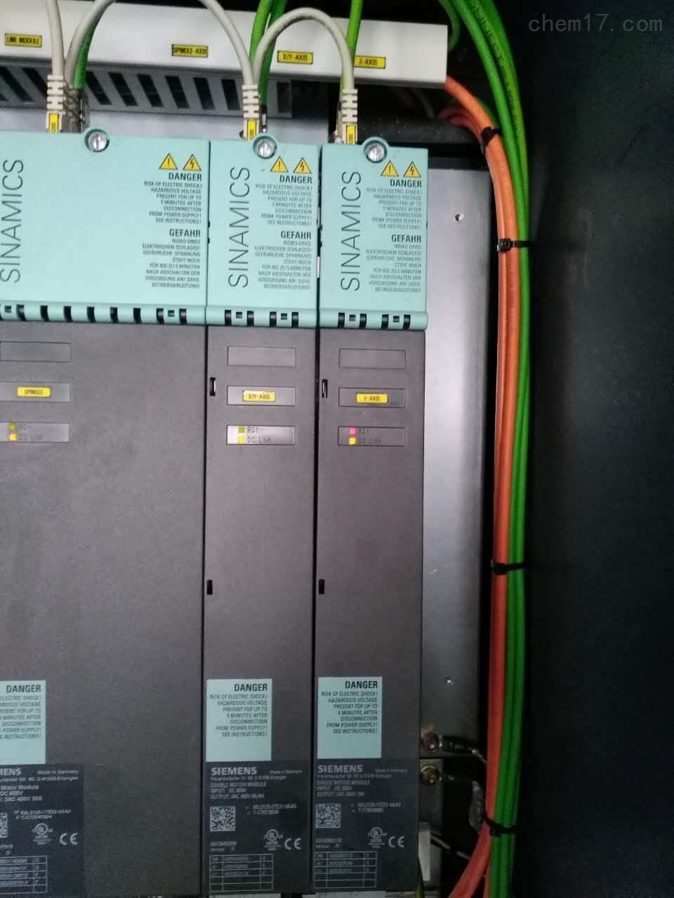 西门子S120伺服控制器报警F07930维修-修复后提供测视频