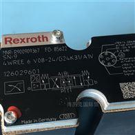4WREE6V08-2X-G24K31-A1VRexroth力士乐比例阀R900909367仓库现货