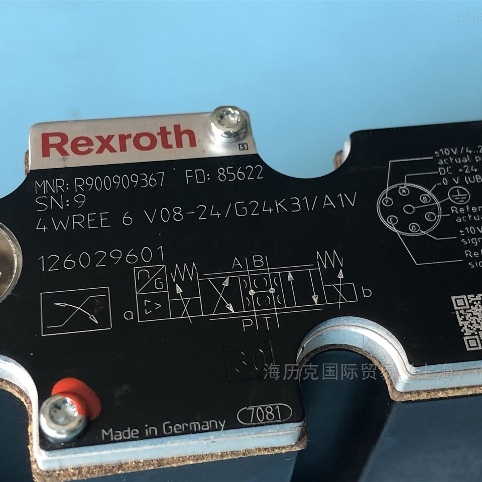 Rexroth力士乐方向滑阀R900561274原装现货