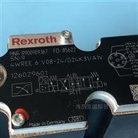 4WE 6 D 6X/EG24N9K4Rexroth力士乐方向滑阀R900561274原装现货