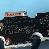 R900954407Rexroth力士乐阀4WRA6W30-2X/G24K4/V现货