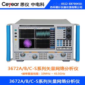 思仪3672A/B/C-S系列矢量网络分析仪
