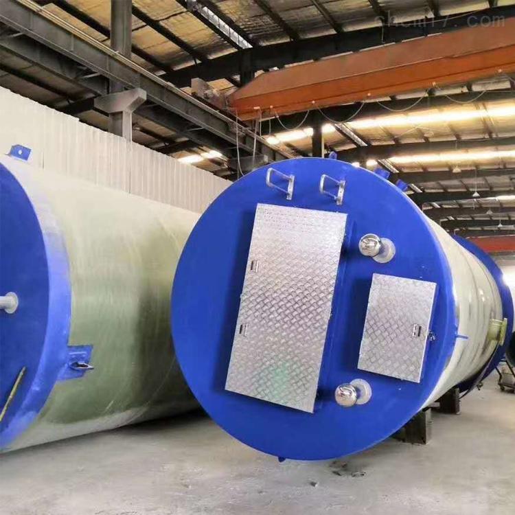 一体化供水提升泵站规格