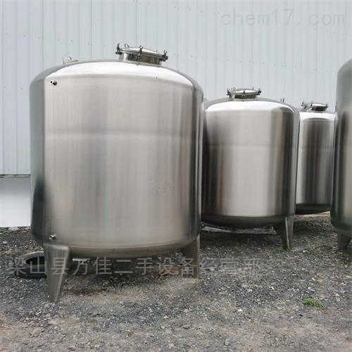 二手全新不锈钢储罐定做出售