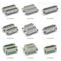 HE-010-M矩形连接器HE系列插芯