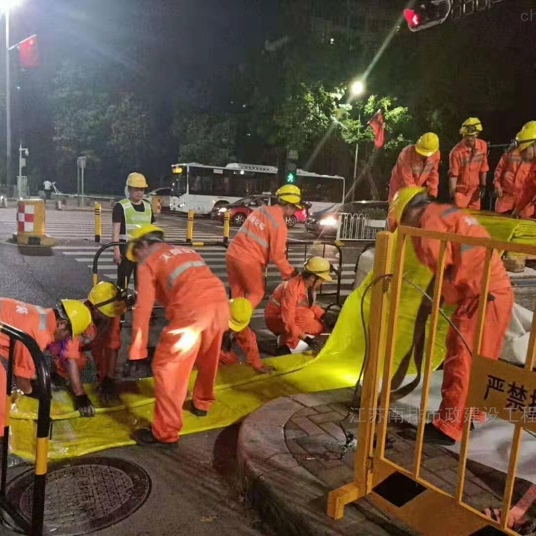 南京市管道非开挖CIPP紫外光固化修复