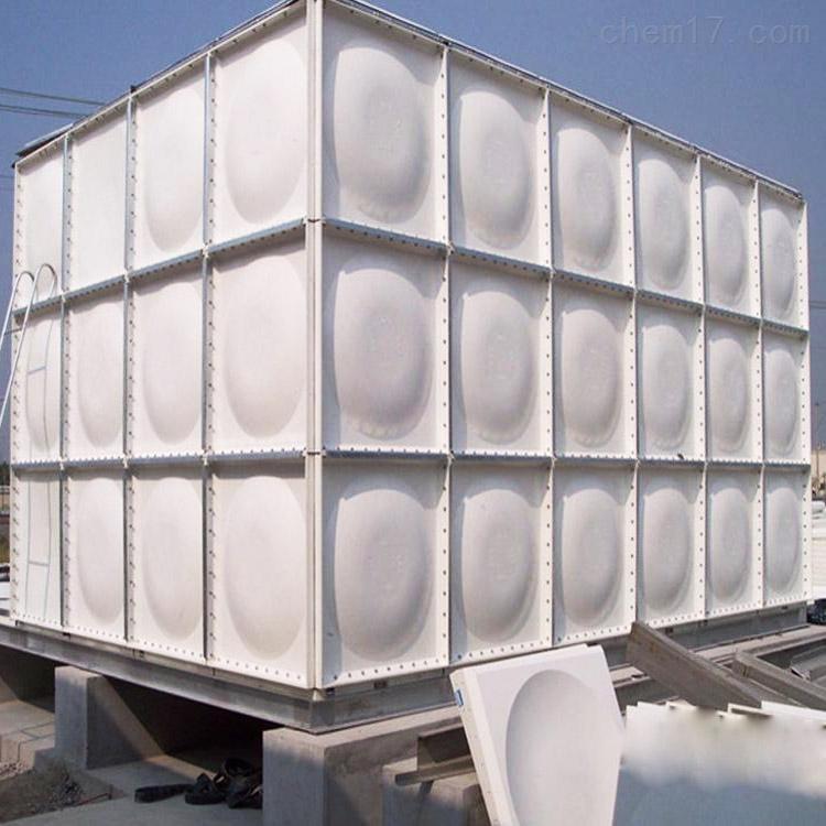 唐山法兰边玻璃钢水箱