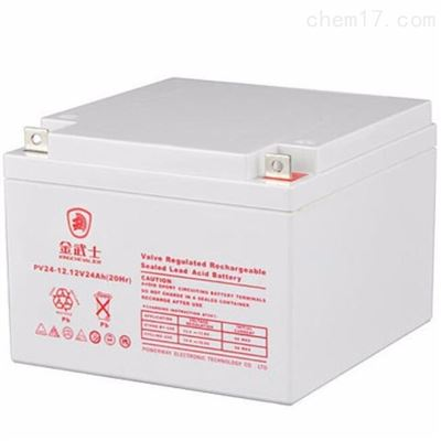 PW24-12 12V24AH金武士12V24AH 蓄电池 UPS电源专用