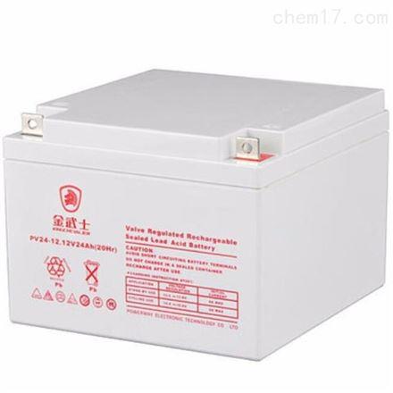 金武士12V24AH 蓄电池 UPS电源专用