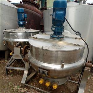 厂家转让二手电加热夹层锅