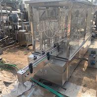 多种二手六泵液体灌装压盖一体机