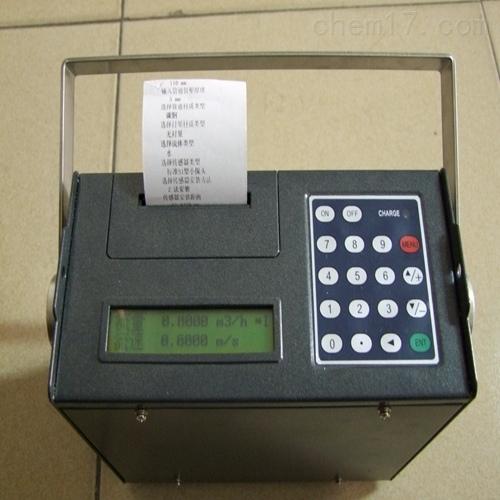 便携式流量计带打印机价格