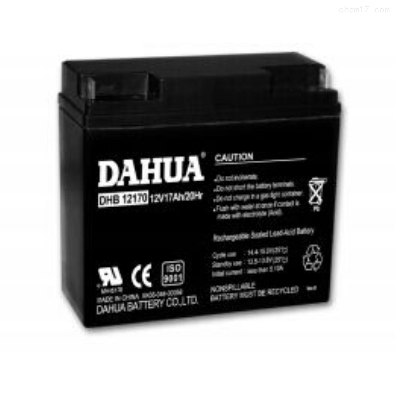大华蓄电池DHB12170直流电源