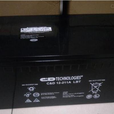 C&D 12-211A LBT 12V211AH西恩迪蓄电池 12-211A LBT 12V211AH
