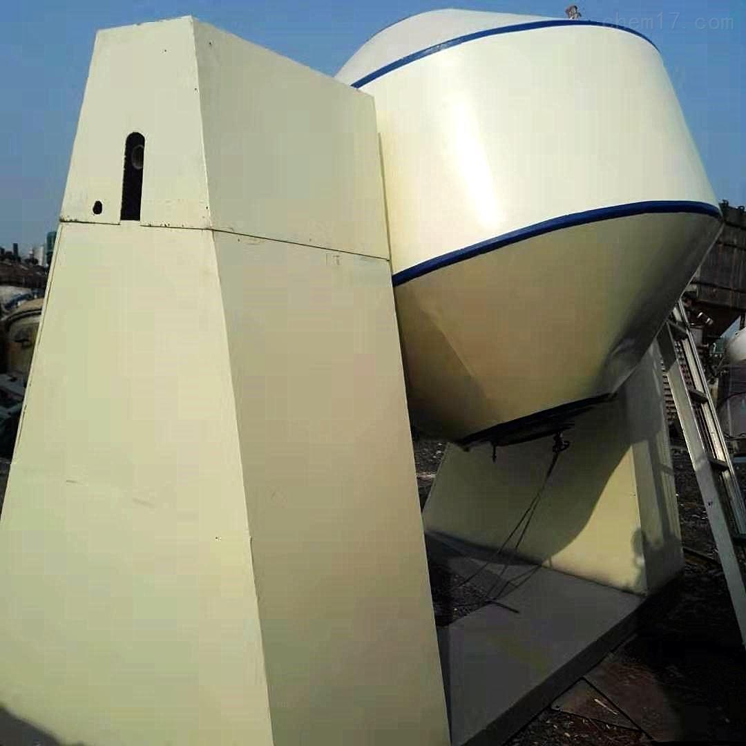 优质2000升搪瓷双锥干燥机处理
