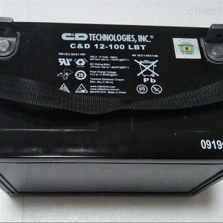 西恩迪蓄电池 12-100 LBT 12V100AH UPS专用