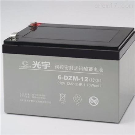 光宇蓄电池12V12AH 6-DZM-12 UPS电源