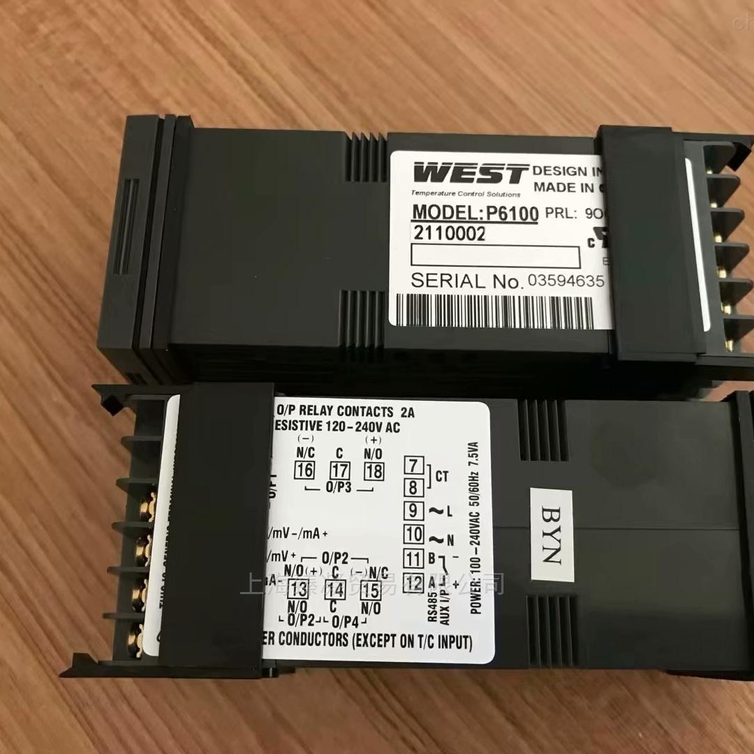 现货p6100-3701002英国WEST温控表