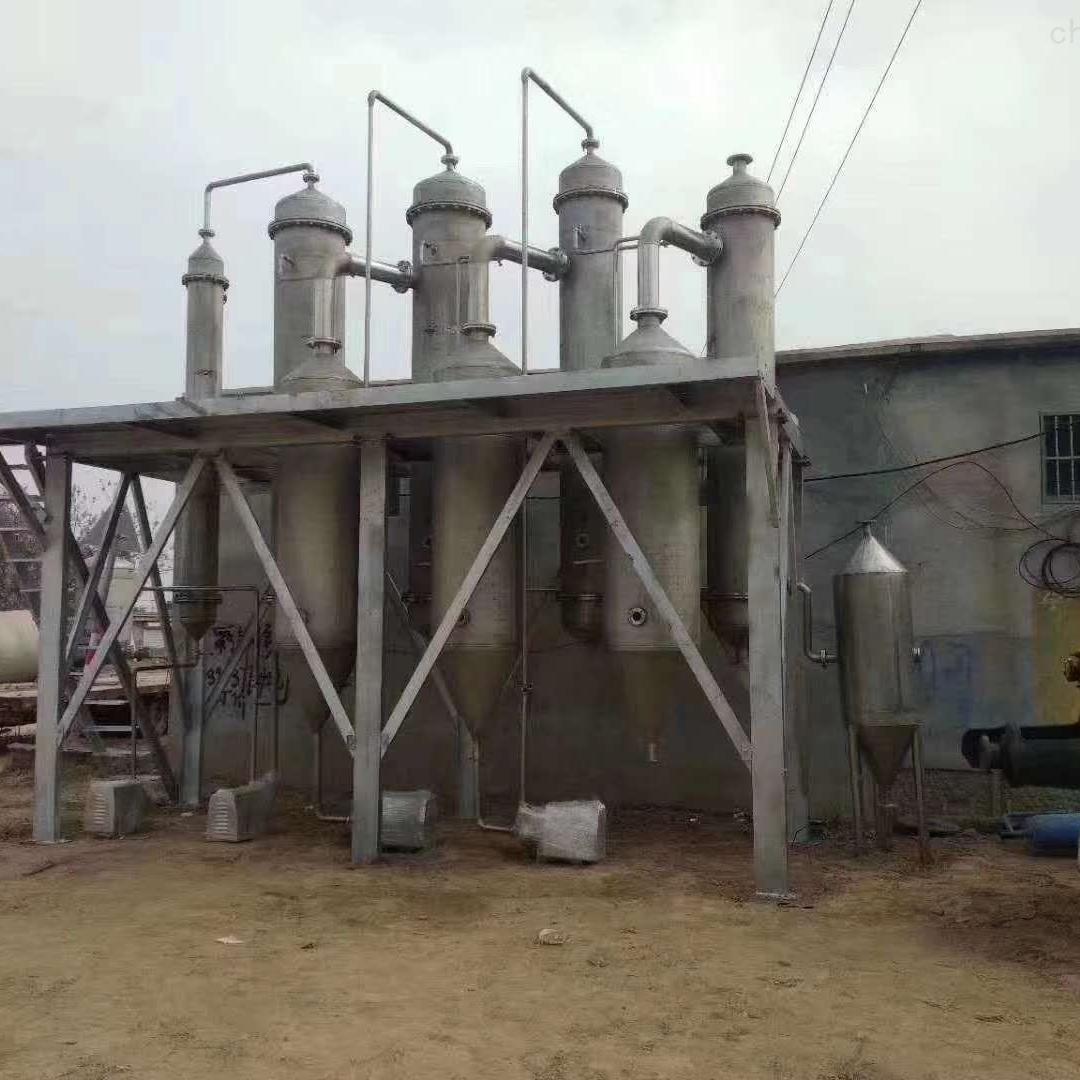 大量回收二手三效蒸发器化工设备