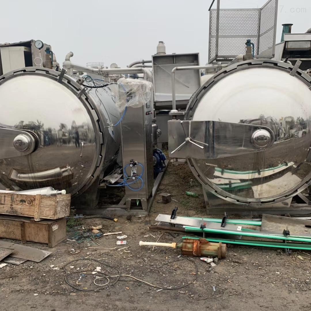 长期回收二手全自动水浴式杀菌锅价格