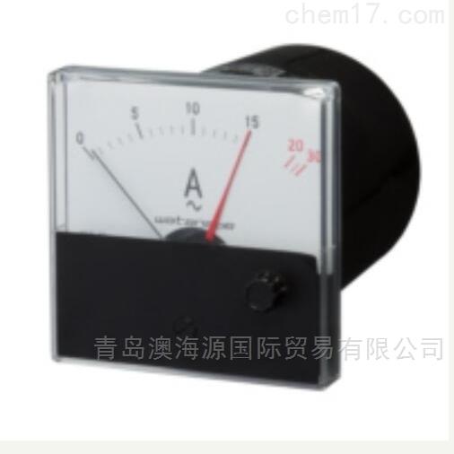 WSC-80HR模拟仪表/电流记录仪日本渡边电机