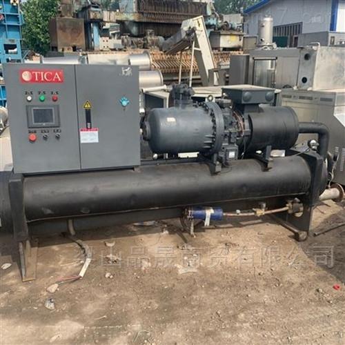 长期回收二手水冷螺杆式冷水机