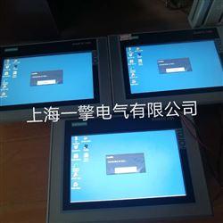 西门子精智屏TP1500启动黑屏维修