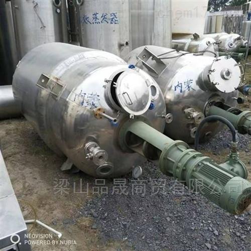 出售二手不锈钢电加热高压反应釜