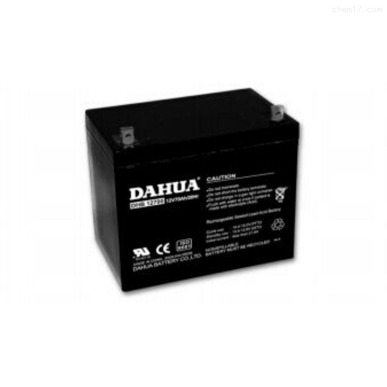大华蓄电池12VDHB1270全新报价