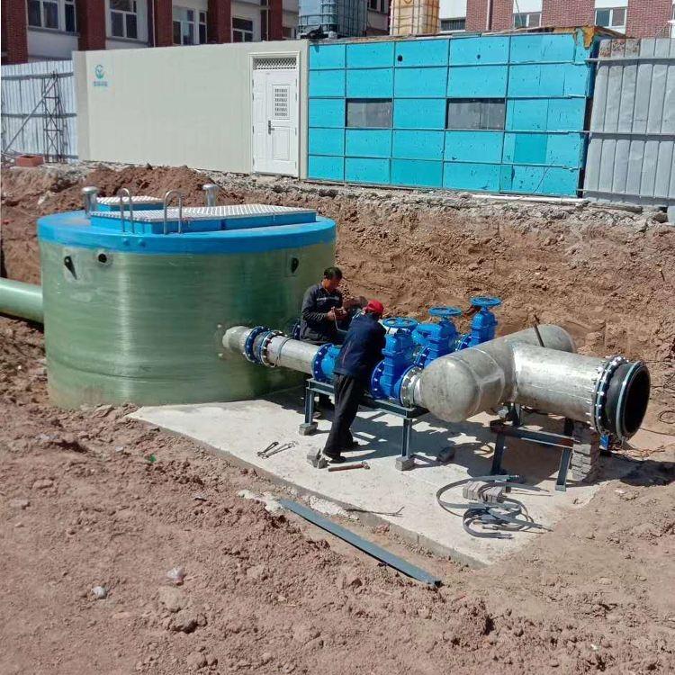 兴安盟一体化排水泵站