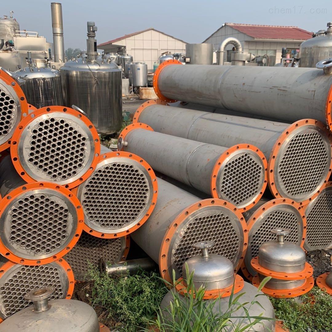 回收二手不锈钢冷凝器 板式换热器价格